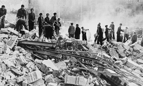 Barcelona after the 1938 bombings