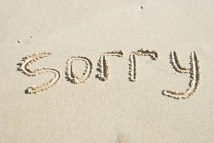sorry-in-the-sand